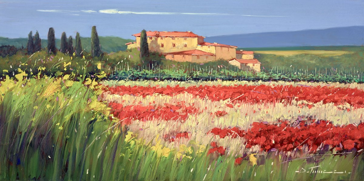 Milioni di Fiori III by bruno tinucci -  sized 32x16 inches. Available from Whitewall Galleries